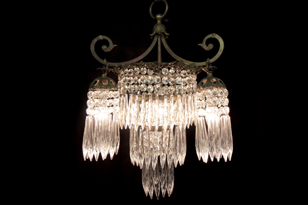 Restored French Chandelier Circa 1930