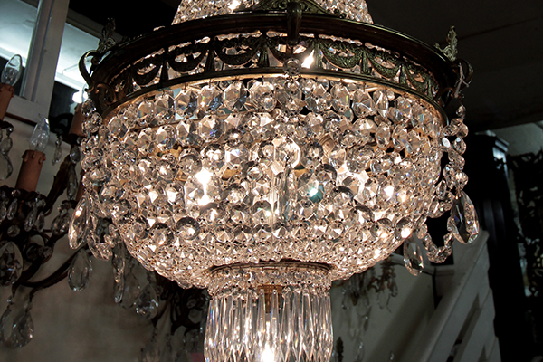 Restored English Regency Style Chandelier Circa 1900
