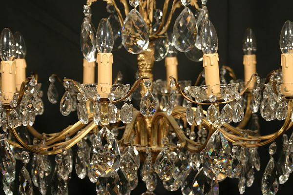 italian antique chandelier 1a - Stunning Antique Chandelier Range