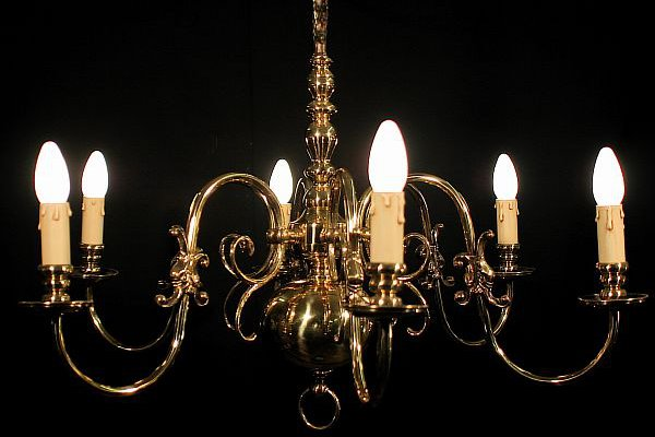 italian antique chandelier 8