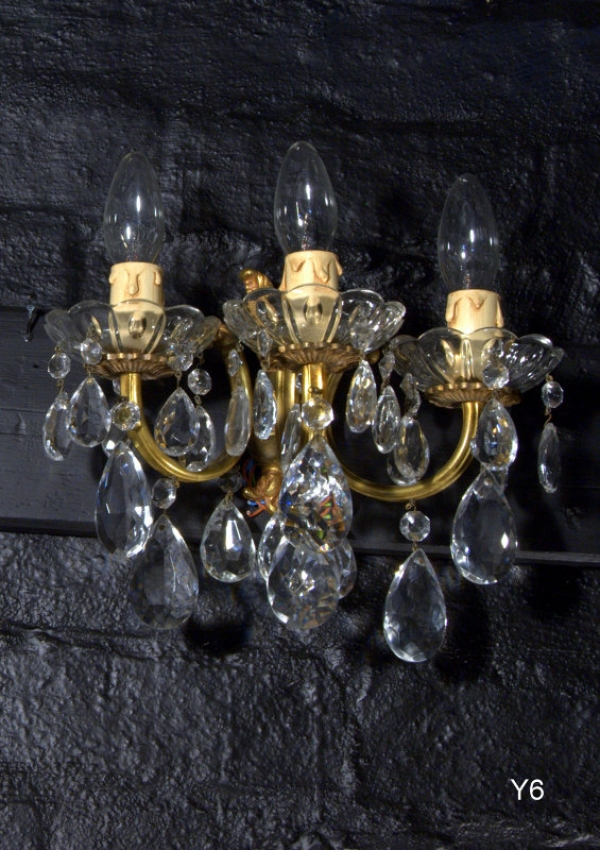 Italian Antique Wall Light AC32